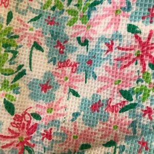 Lilly Pulitzer Floral Mini Skirt Size 2